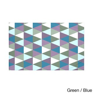 50 x 60-inch Geometric Print Throw Blankets (5 options available)