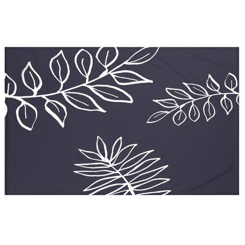 50 x 60-inch Floral Print Throw Blankets