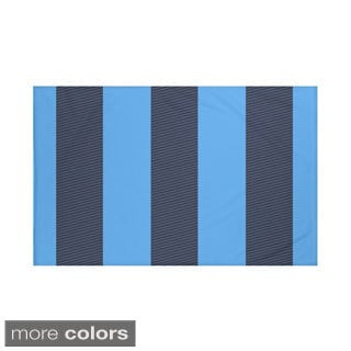50 x 60-inch Stripes Print Throw Blankets