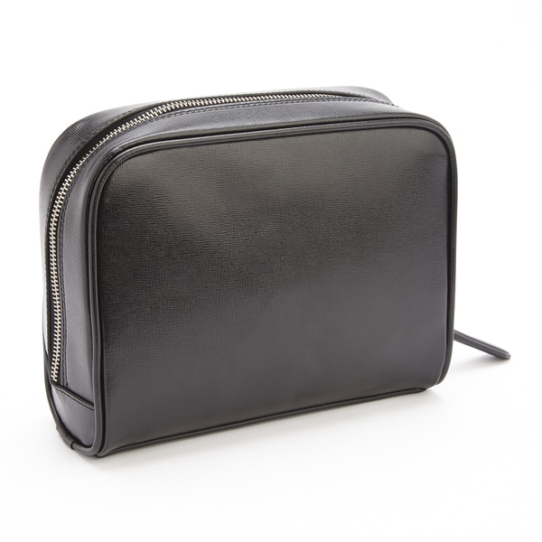 Shop Royce Leather Saffiano Leather Toiletry Travel