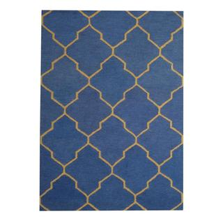 Herat Oriental Indo Hand-tufted Contemporary Wool Rug (5' x 7')