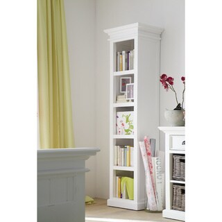 The Gray Barn Ora Tall Mahogany Bookshelf