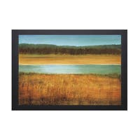 Caroline Gold-Riverside 40 x 28 Framed Art Print
