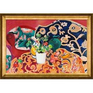 Henri Matisse Spanish Still Life Hand Painted Framed Canvas Art