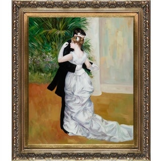 Pierre-Auguste Renoir Dance in The City Hand Painted Framed Canvas Art