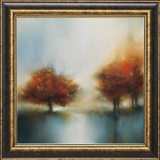 J.P. Prior 'Morning Mist & Maple ll' 22-inch Framed Art Print