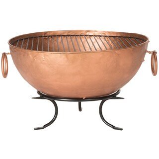 Safavieh Bangkok Copper/ Black Fire Pit