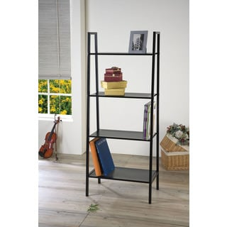 Eason Black Bookcase
