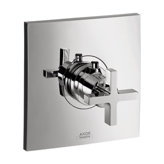 Axor Citterio Thermostatic Chrome Trim with Cross Handle