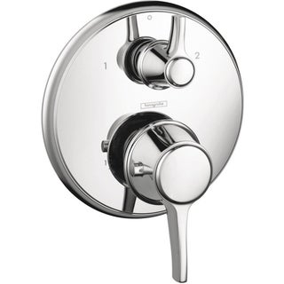 Hansgrohe C Thermostatic Chrome Shower Trim with Volume Control and Diverter