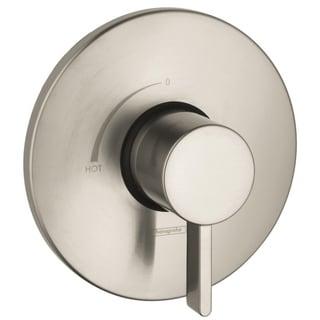 Hansgrohe S Pressure Balance Brushed Nickel Trim