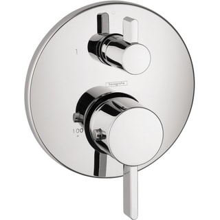 Hansgrohe S Thermostatic Chrome Trim with Volume Control and Diverter