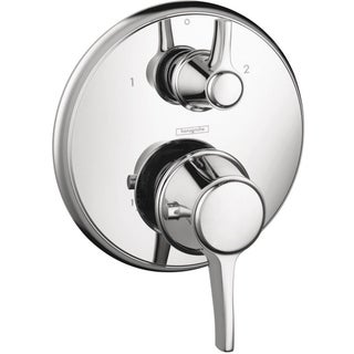 Hansgrohe C Thermostatic Chrome Shower Trim with Volume Control