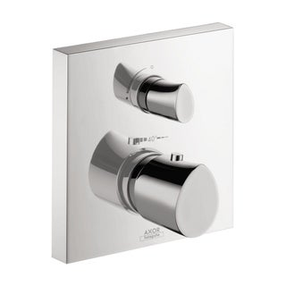Axor Starck Organic Thermostatic and Diverter Chrome with Volume Control