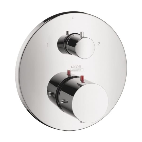 Hansgrohe Axor Starck Thermostatic and Diverter Chrome Trim with Volume Control