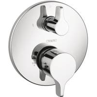 Hansgrohe E/ S Thermostatic Chrome Trim with Volume Control