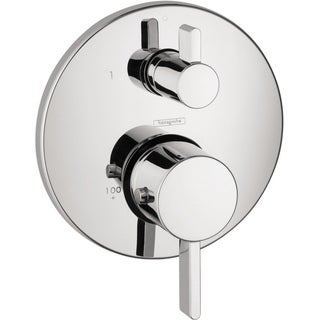 Hansgrohe S Thermostatic Chrome Trim with Volume Control