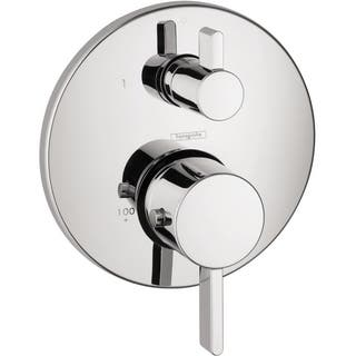 Hansgrohe Ecostat S Thermostatic Trim with Volume Control 04230000 Chrome|https://ak1.ostkcdn.com/images/products/9981619/P17133286.jpg?impolicy=medium