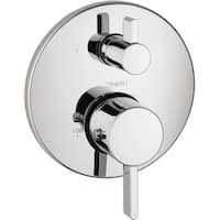 Hansgrohe Ecostat S Thermostatic Trim with Volume Control 04230000 Chrome