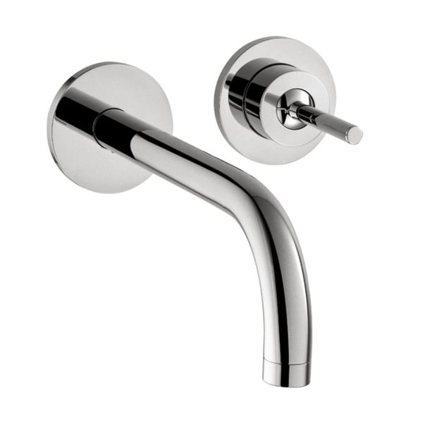 Hansgrohe AXOR Uno Wall Mounted Single Handle Chrome Faucet