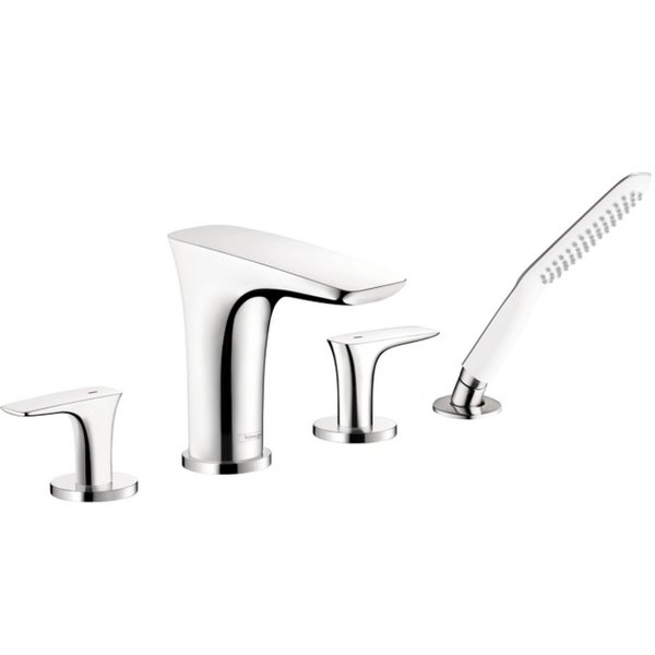 Hansgrohe PuraVida Trim, 4 Hole Roman Chrome Tub Set