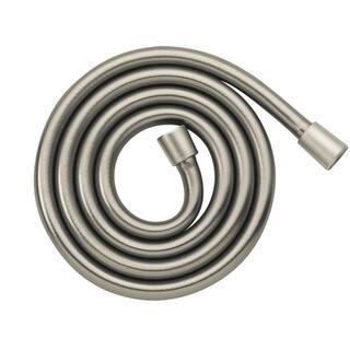 Hansgrohe Techniflex B 63-inch Brushed Nickel Handshower Hose|https://ak1.ostkcdn.com/images/products/9981655/P17133321.jpg?impolicy=medium