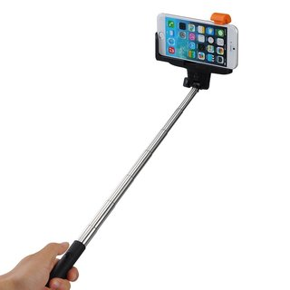 Mpow iSnap Pro 2-in-1 Self-portrait Monopod Extendable Selfie Stick with Built-in Bluetooth Remote Shutter and Grip Holder