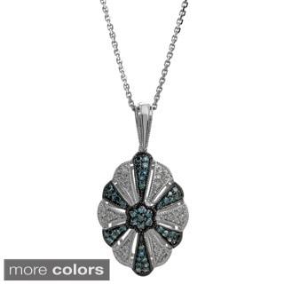 Sterling Silver 2/5ct TDW Diamond Pendant