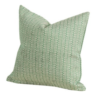 Maritime Emerald Indoor/Outdoor Throw Pillow