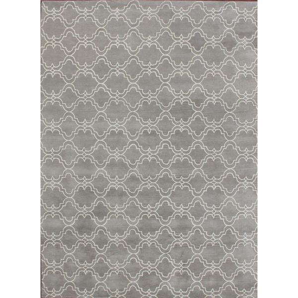 Shop ABC Accents Handmade Moroccan Trellis Scroll Grey