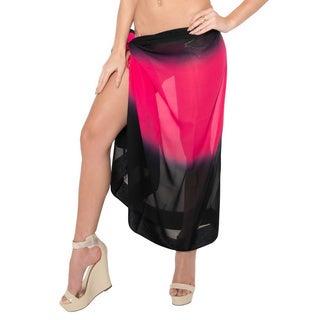 La Leela Bikini Cover up Sarong Beachwear Swimsuit Swimwear Wrap Pareo Bathing Suit Swim