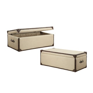 Humphrey Storage Trunk Cocktail Table