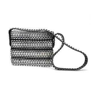Handmade Soda Pull Tab and Tire Long Strap Cocktail Bag (Mexico)|https://ak1.ostkcdn.com/images/products/9981842/P17133506.jpg?impolicy=medium