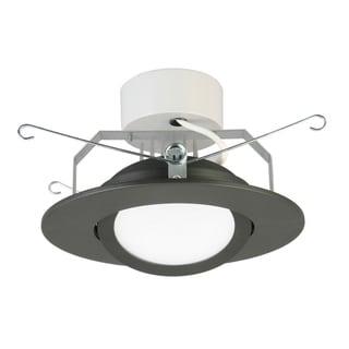Lithonia Lighting 6G1MB LED M6 6-inch Matte Black LED Gimbal Module