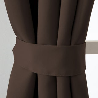 Brown, 64 Inches, Blackout Curtains & Drapes - Shop The Best Deals ...