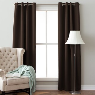 Arlo Blinds 64-inch Insulated Grommet Blackout Curtain Panel Pair (More options available)
