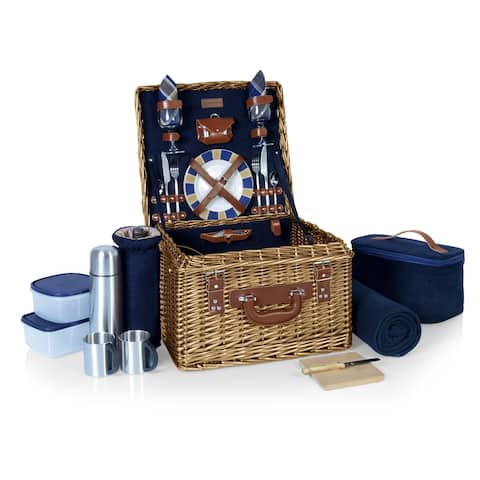 Picnic Time Canterbury Navy/Plaid