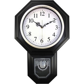 18.75 Essex Urban Mod Pendulum Wall Clock