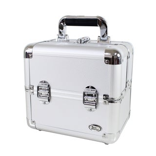 Jacki Design Aluminum Pro Makeup Artist Train Case