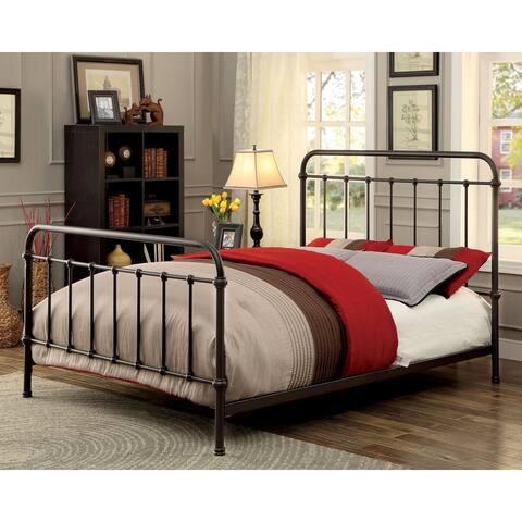 Norielle Rustic Bed by FOA
