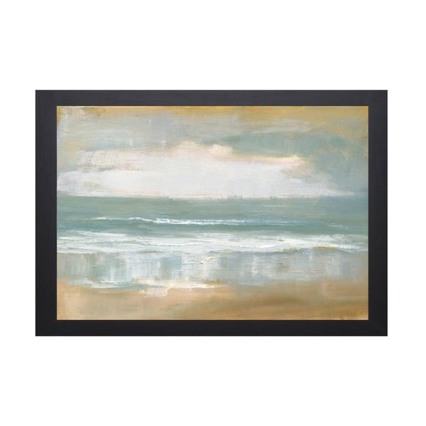 Caroline Gold -Shoreline 40 x 28 Framed Art Print