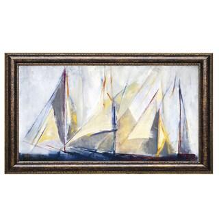 Mar'a Antonia Torres 'Light Breeze' Framed Art Print