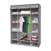 Home Basics Storage Closet with Shelving - LARGE