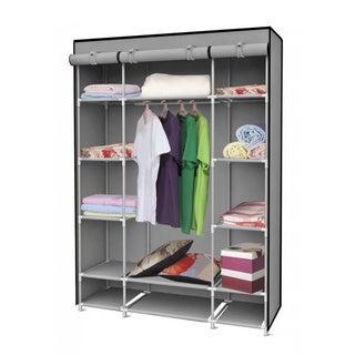 Home Basics Storage Closet With Shelving   LARGE