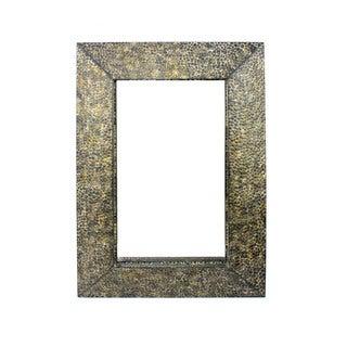 1 Wall Gold Metal Mirror