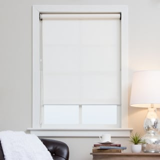 Arlo Blinds White Continuous Chain Solar Shade