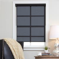 Arlo Blinds Black Continuous Chain Solar Shade