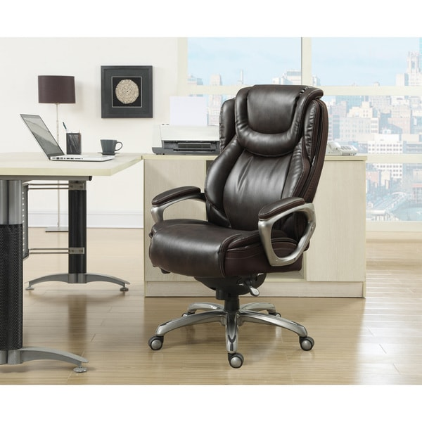 Serta Big U0026amp; Tall Harmony Smart Layers Executive Office Chair