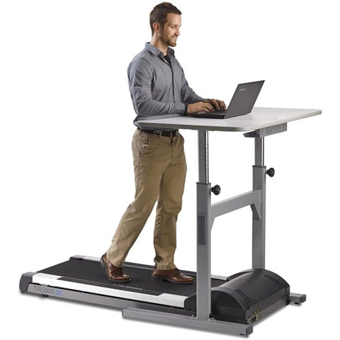 LifeSpan TR 5000-DT5 Treadmill Desk Workstation with Manual Height Adjustment