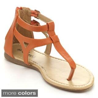 I HEART LIVIA-03 Women's Gladiator Styles T-strap Sandals
